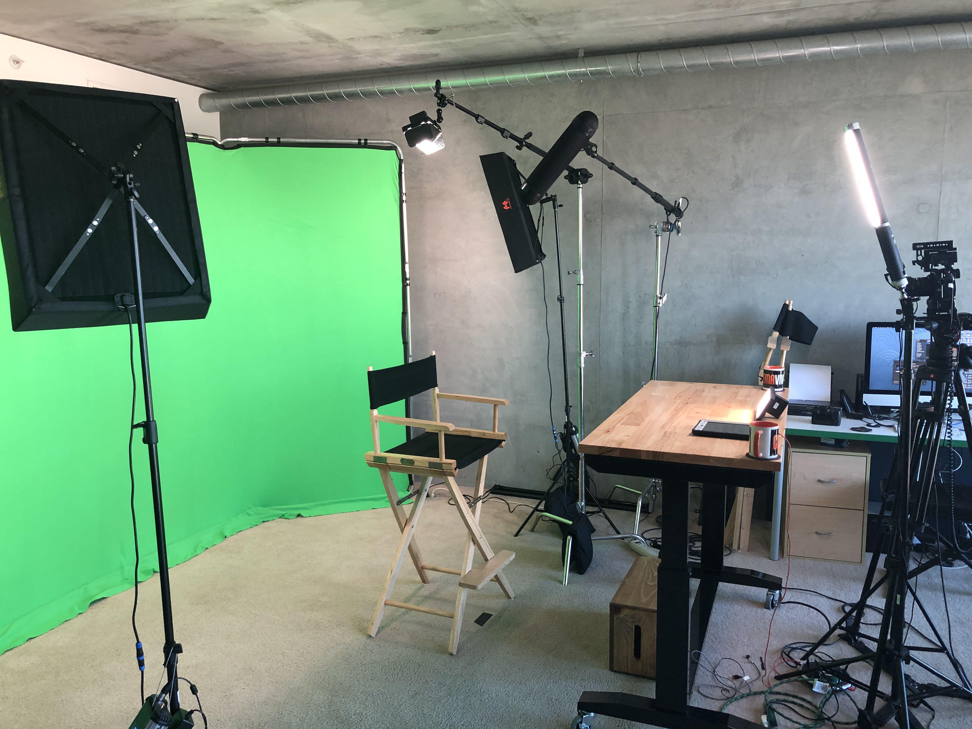 Green Screen Video Studio in San Diego